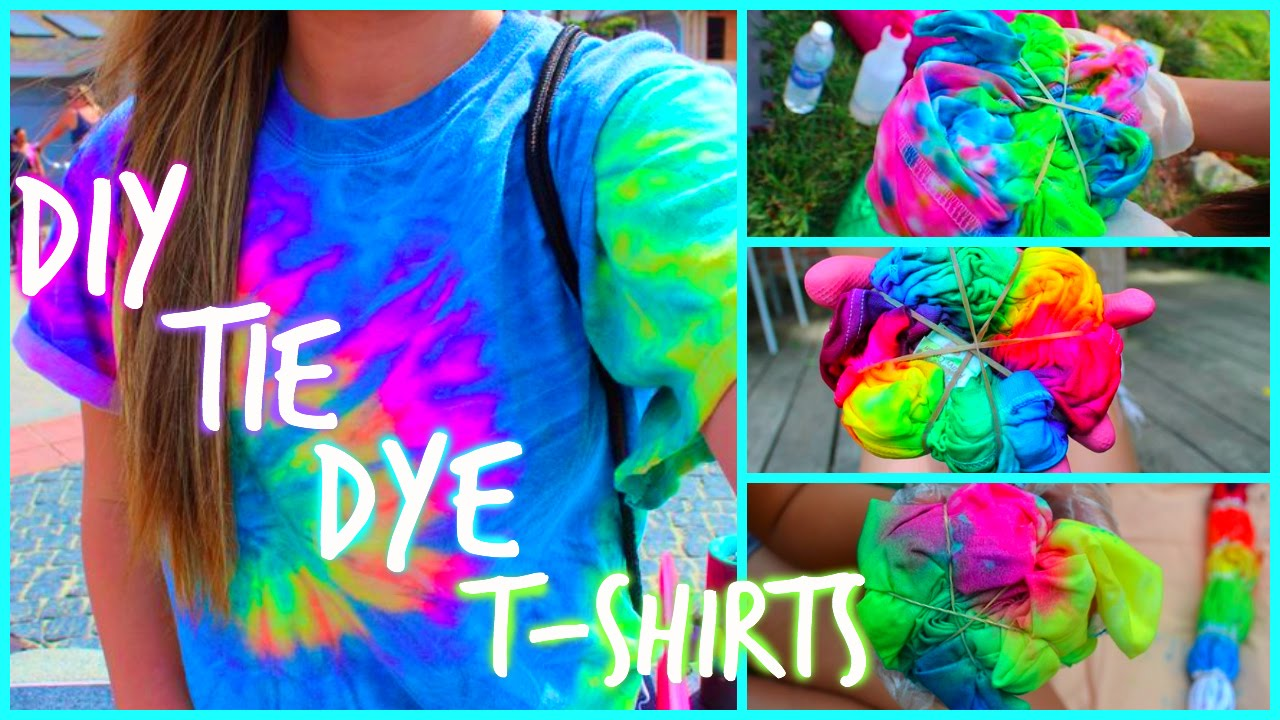 Diy tie dye t shirts youtube for Making a tie dye shirt