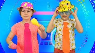 Disco Baby Shark kids song Nursery Rhymes by Globiki
