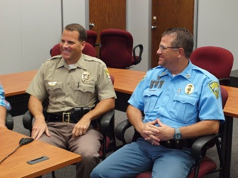 Real People Real Life Wichita with Sheriff Easter & Chief Ramsay