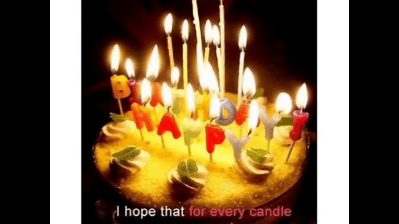 Birthday Wish Rthday Greetinggif Youtube