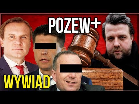 POZEW+ - WYWIAD z Dominik Tarczyński o Pozwach dla Ryszarda P i Grzegorza S