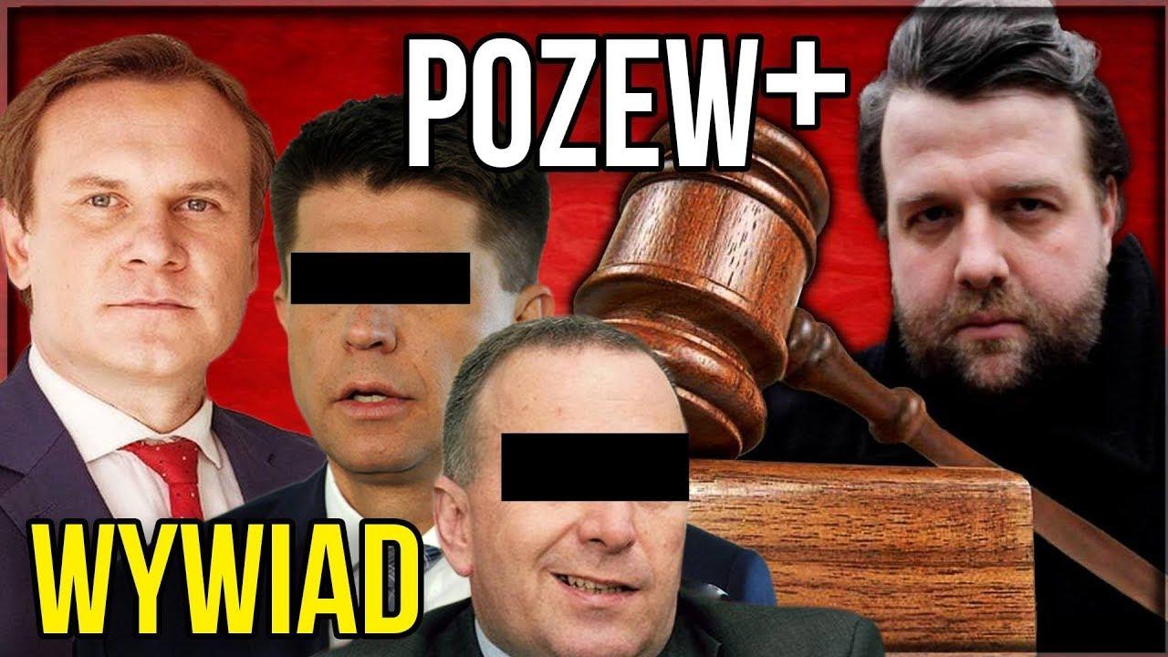 POZEW+ – WYWIAD z Dominik Tarczyński o Pozwach dla Ryszarda P i Grzegorza S