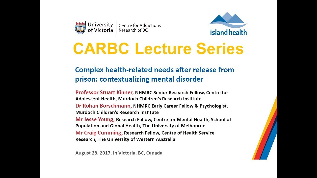 Health Related Needs After Release From Prison Contextualizing