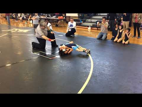Jerm's first match at SEPA Hopewell Valley 1-21-2018