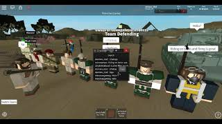 ROBLOX ANZAC Joint Patrol mit Allied Airborne