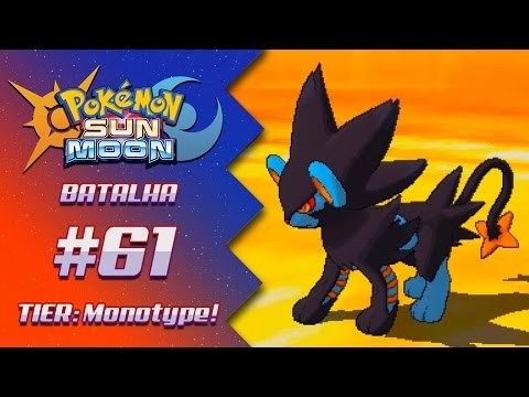 Pokémon Sun & Moon - Batalha Competitiva #61: Shark VS Marcelo | Smogon Monotype