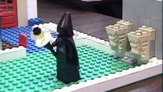 the LEGO March of the Black Queen