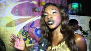 Red carpet interview with Beverly Osu
