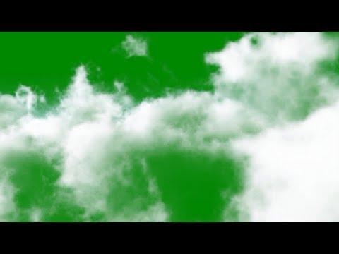 Облака, Дым, Смог, Туман (футажи для видеомонтажа хромакей) 