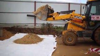 видео Геотекстиль - новейший материал в дорожном строительстве