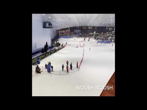 Ski Dubai 2020 #noushnoush