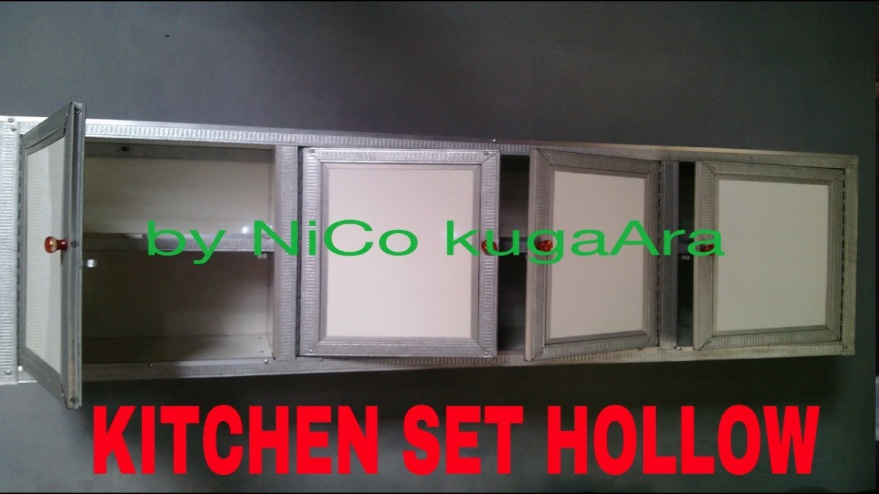 Kitchen Set Baja Ringan Hollow Youtube