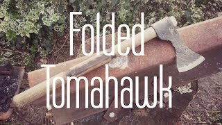 forging a small tomahawk