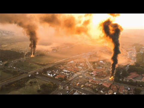 Tshwane is Burning   South Africa