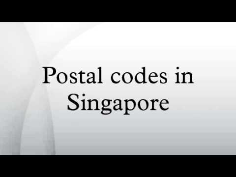 Postal Codes In Singapore Youtube