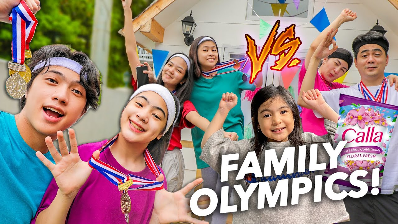 FAMILY OLYMPICS!! (Sino Ang Mananalo?!)   Ranz and Niana ft. natalia