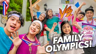 FAMILY OLYMPICS!! (Sino Ang Mananalo?!) | Ranz and Niana ft. natalia
