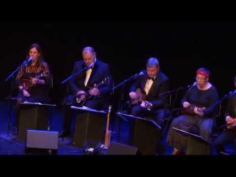 Ukulele Orchestra of Great Britain perform Dancing Barefoot