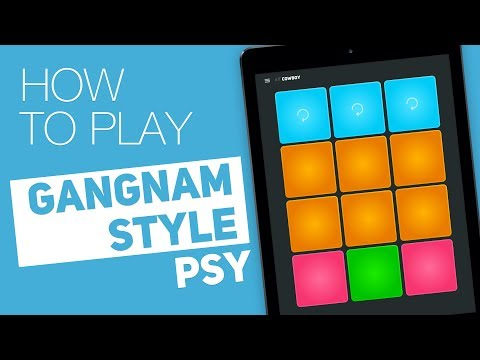 Thumbnail: How to play: GANGNAM STYLE (PSY) - SUPER PADS - Cowboy Kit