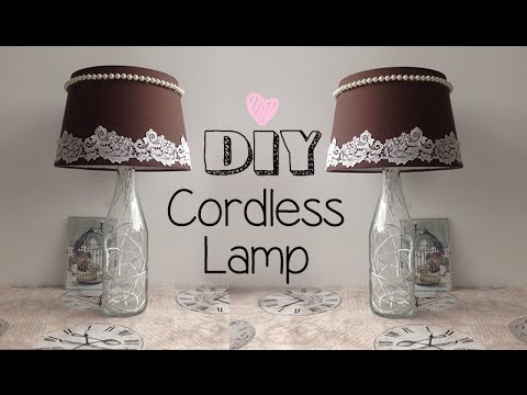 Diy│cordless Study Lamp Youtube