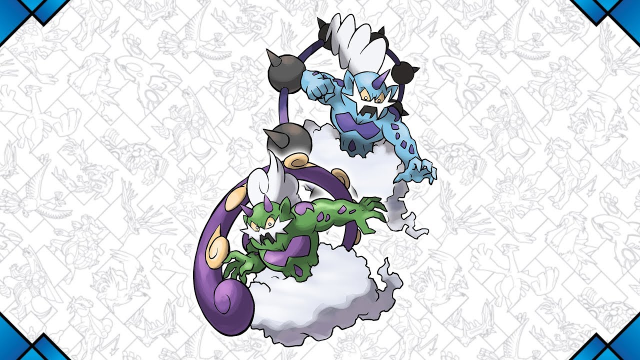 Storm Ahead with Thundurus and Tornadus this July!