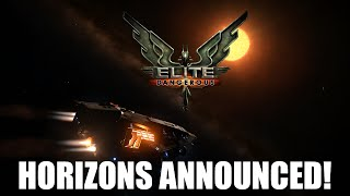 Elite: Dangerous - Horizons Announced! | Expansion Information!