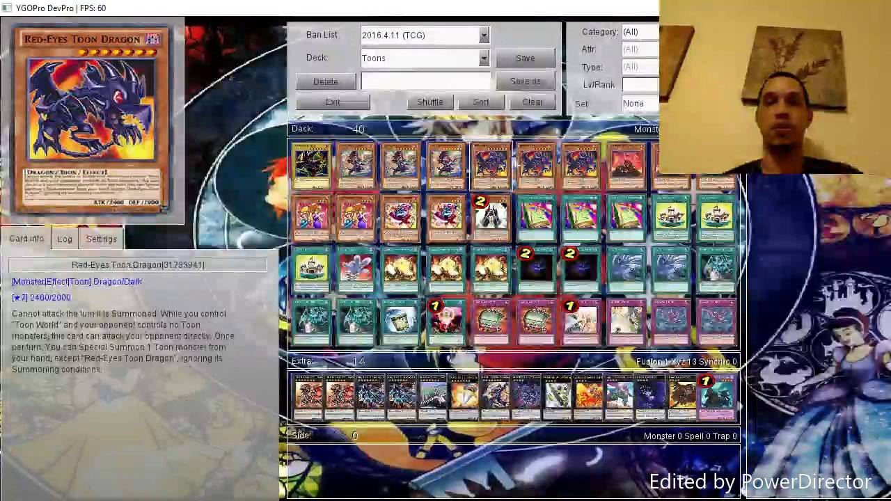 red eyes toon deck profile youtube