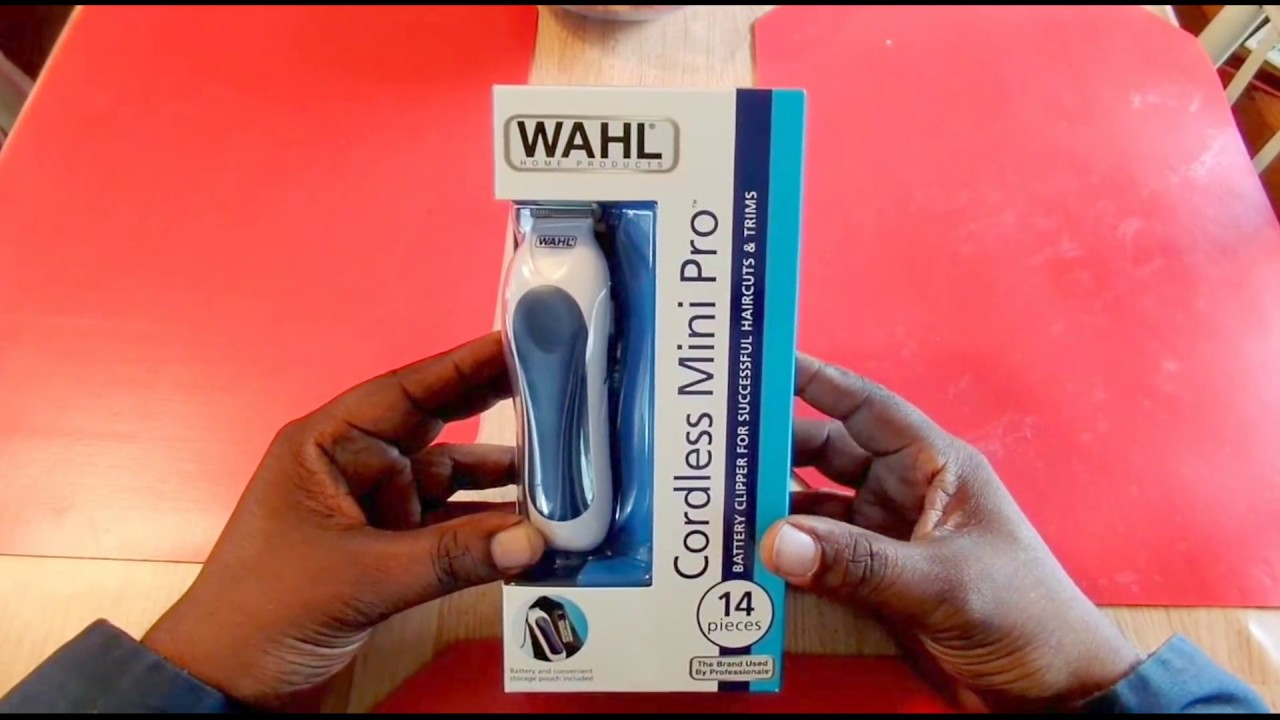 ace6a5093 WAhl Cordless Mini Pro Clippers - YouTube