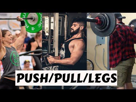 Push Pull Legs Program For Beginners PPL Program For Mass