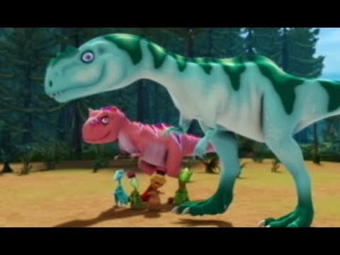 Поезд динозавров Большой пикник Мультфильм про динозавров