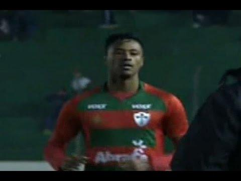 Gols, Juventude 1 x 2 Portuguesa - Brasileirão Série C 18/06/2016