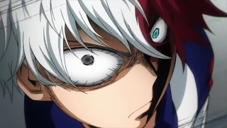 Todoroki Shouto vs Sero | My Hero Academia Season 2 Episode 7