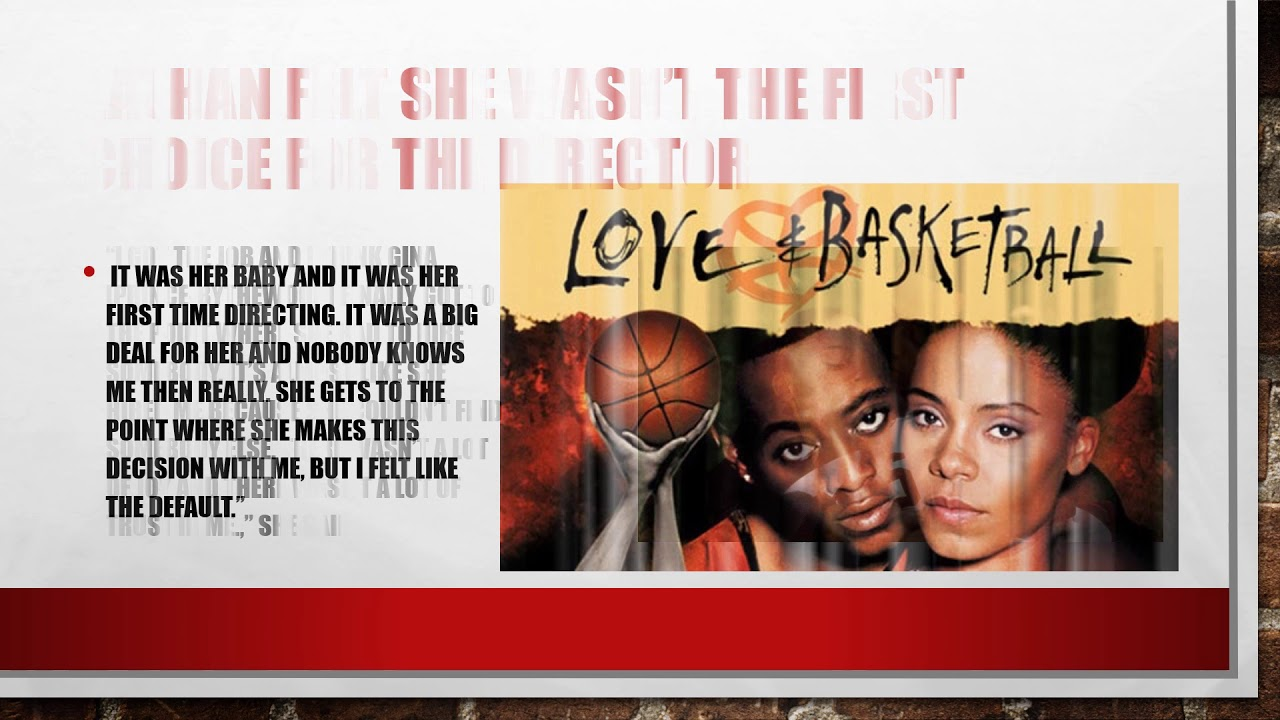 Sanaa Lathan admits Love and Basketball made her miserable