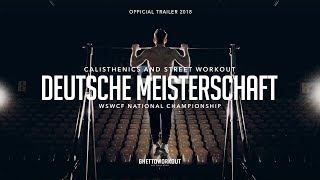 GHETTOWORKOUT - Deutsche Meisterschaft Calisthenics & Street Workout 2018 Trailer (Official Video)