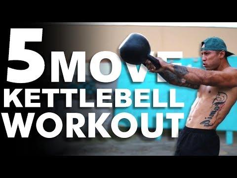 5 Move Kettlebell Workout 🔥| Michael Vazquez