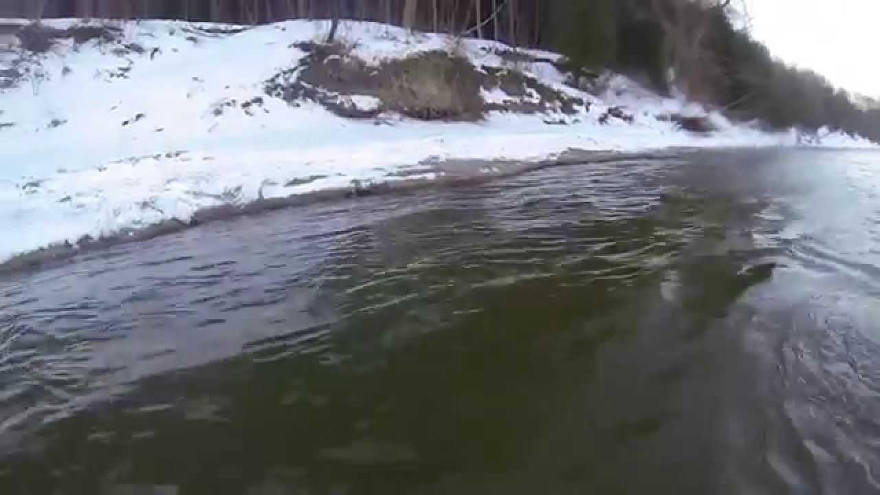 Lake huron wild steelhead river fishing youtube for Lake huron fishing report