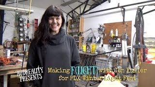 Making F(light) with Jen Fuller for PDX Winter Lights Fest
