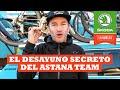 El Desayuno Secreto Del Equipo Astana | Ibon Zugasti | La Vuelta Con Škoda