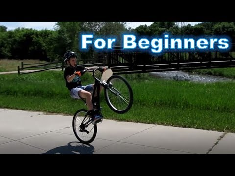 How To Wheelie A Mountain Bike EASY and FAST