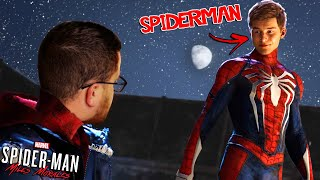 Meeting SPIDERMAN for the FIRST TIME | Spider-Man Miles Morales #1