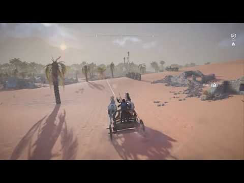 Assassin's Creed: Origins - Road Trip - Alexandria to Krokodilopolis - Scout Chariot