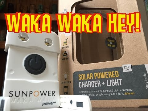 WakaWaka USB Solar Charger+ Light Unboxing/Review
