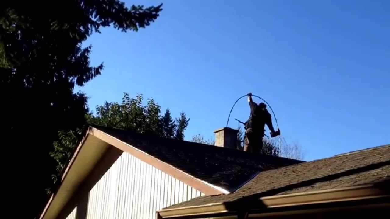Soot Eater Rotary Chimney Cleaning System Power Sweep Flue