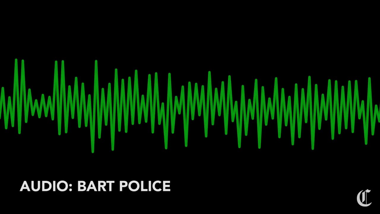 Audio from BART police dispatch during Oakland robbery