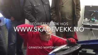 Grimstad Motorveteraner hos SkadeVekk