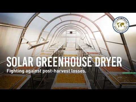 Solar Greenhouse Dryer - Fighting Post-harvest Losses - #1000solutions