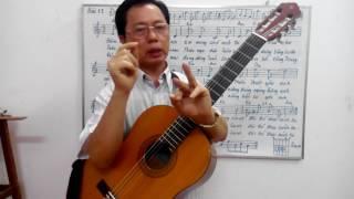 Học guitar căn bản cho người mới bắt đầu - Bài 12: Đôi bờ - A.Espal - duc Giang music