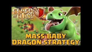Best Builder Hall 5 Attack strategy | Baby dragon 3 star Attack | Clash Of Clans HINDI