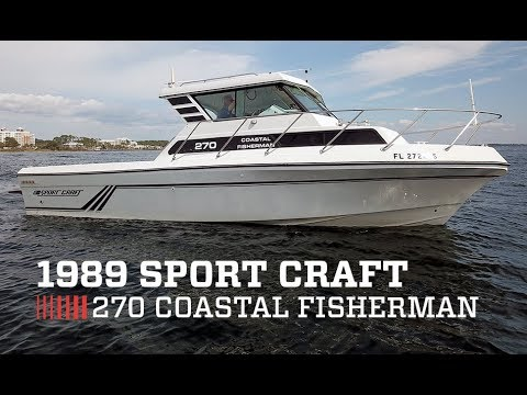 1989 Sport Craft 270 Coastal Fisherman For Sale at MarineMax Panama City