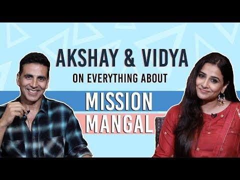 MISSION MANGAL   Akshay Kumar and Vidya Balan's EXCLUSIVE interview